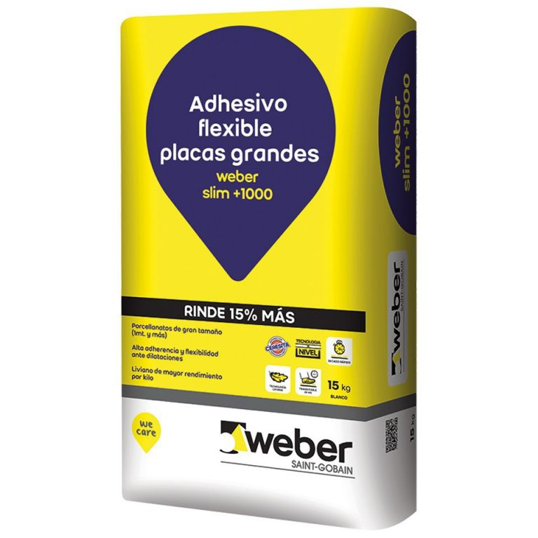 adhesivo flexible placas grandes materiales cordoba
