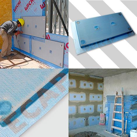 ecap aislacion de muros materiales construccion