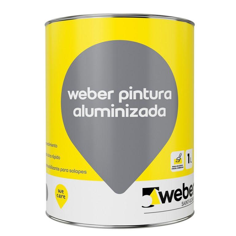 pintura aluminio para techos